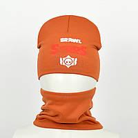 Детский комплект brawl stars оранжевый, фото 1