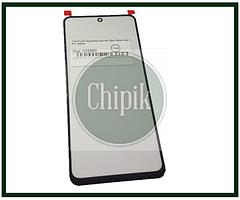 Стекло для переклейки дисплея Xiaomi Redmi Note 9 Pro, черное