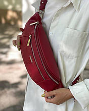 Женская сумка бананка из эко-кожи от david jones
