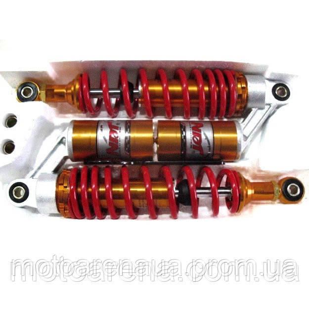 Амортизаторы с подкачкой DELTA,ALPHA,ACTIVЕ (длина 340 мм),комплект