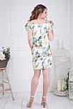 Сукня ТМ ALL POSA Лінда білий 46 (4775-2), фото 2