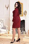 Сукня ТМ ALL POSA Єлизавета бордовий 50 (4839-1), фото 2