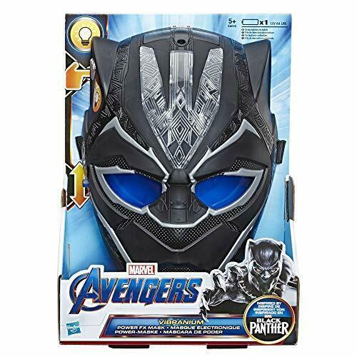 Маска Avengers Black Panther Hero Vibranium Power Feature Mask
