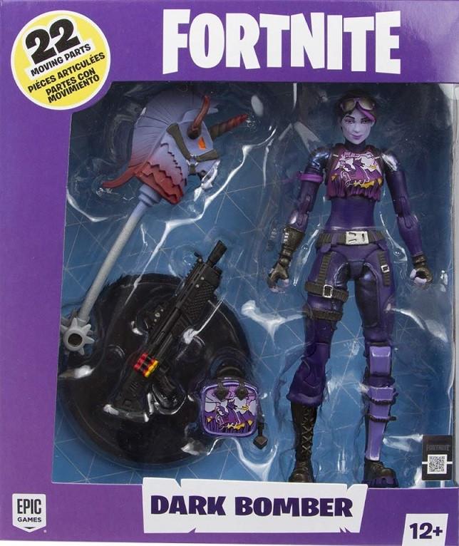 Фигурка Fortnite Dark Bomber Action Figure (McFarlane, высота 18 см)