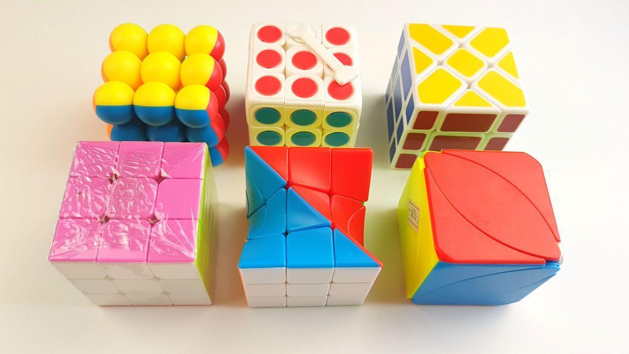 Мега Набор для Логики 6 в 1 Кубик Рубик головоломка