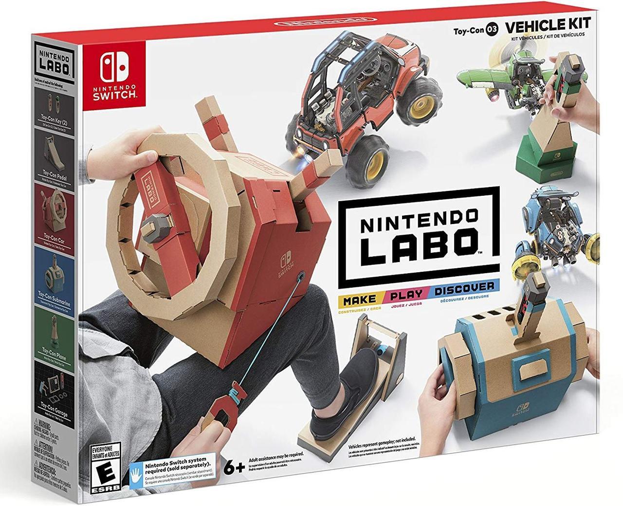 Аксесуар для Nintendo LABO: Набір Vehicle Kit (Nintendo Switch)