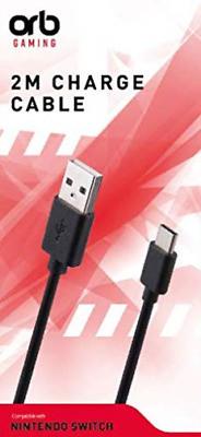 Аксесуар для Зарядний кабель для Nintendo Switch (2 м, ORB)