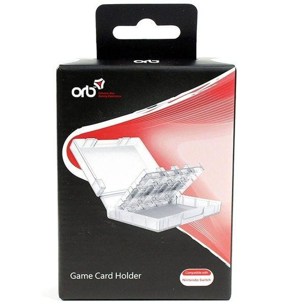 Аксессуар  для Кейс для ігрових картриджів Nintendo Switch Game Card Holder (ORB)