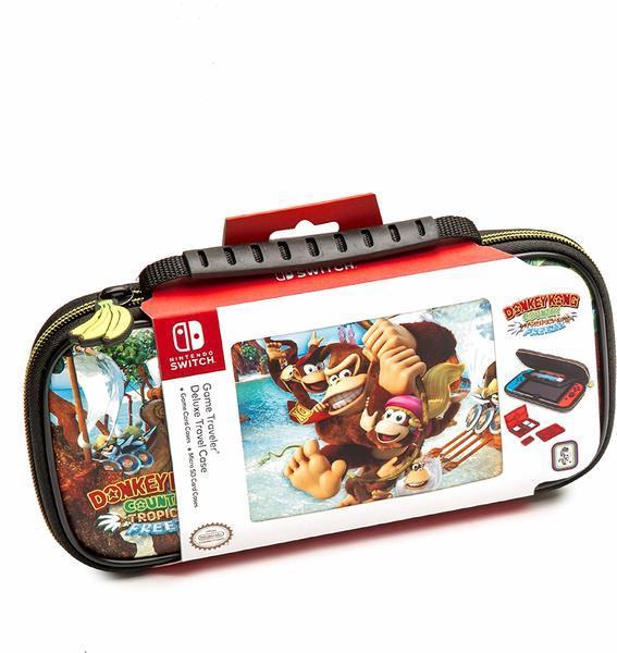 Набор аксессуаров Donkey Kong для Switch (чехол і 2 кейса для картриджів)