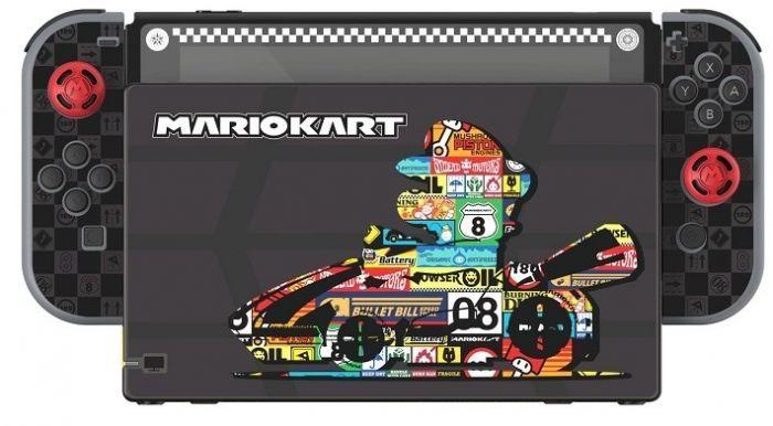 Набор аксессуаров для Nintendo Switch Mario Kart Play & Protect Screen Protection Kit (Switch)