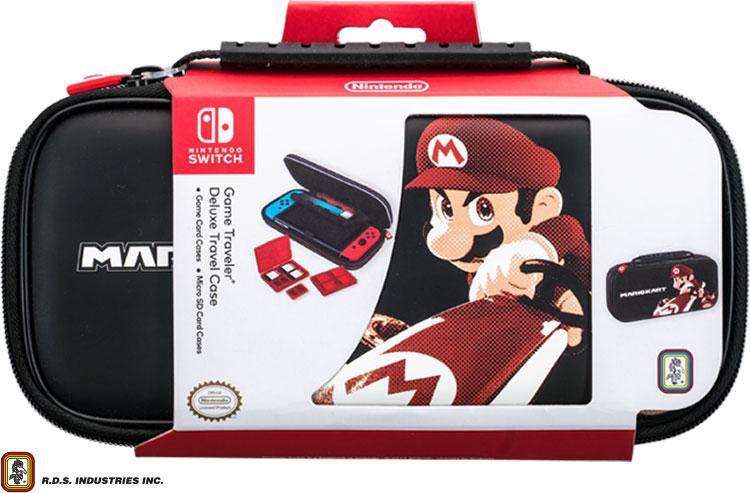 Набір аксесуарів для Nintendo Switch Deluxe Travel Case Mario Kart 8