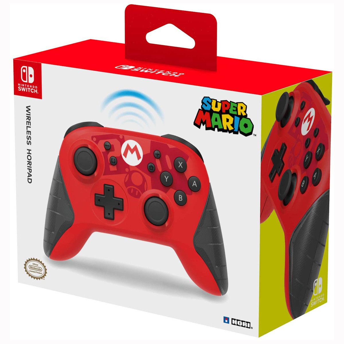 Геймпад (джойстик) для Nintendo Switch HORI Mario Pro Controller