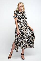 Платье ТМ ALL POSA Сакура леопард 50 (1358-1)