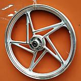 Диск колісний передній литий EN VM XG JAO 150-19 18 Х 1,85, фото 3
