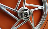 Диск колісний передній литий EN VM XG JAO 150-19 18 Х 1,85, фото 6