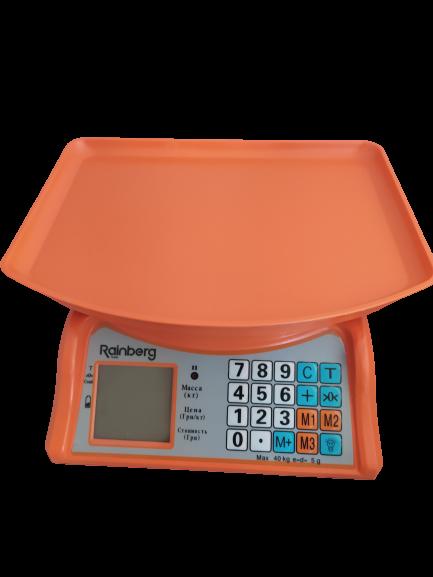 Торговые весы RAINBERG RB-805 40 кг
