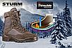 Берцы  мужские  зимние тактические  Mil-Tec утепленные    утеплителем  Thinsulate™  коричневые  Германия, фото 6