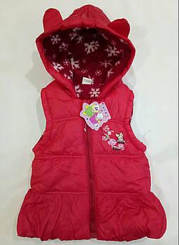 Детская жилетка на девочку   Р.р  2-4 года  Турция