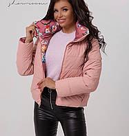 Осенняя  женская  куртка двусторонняя .Новинка 2020, фото 1