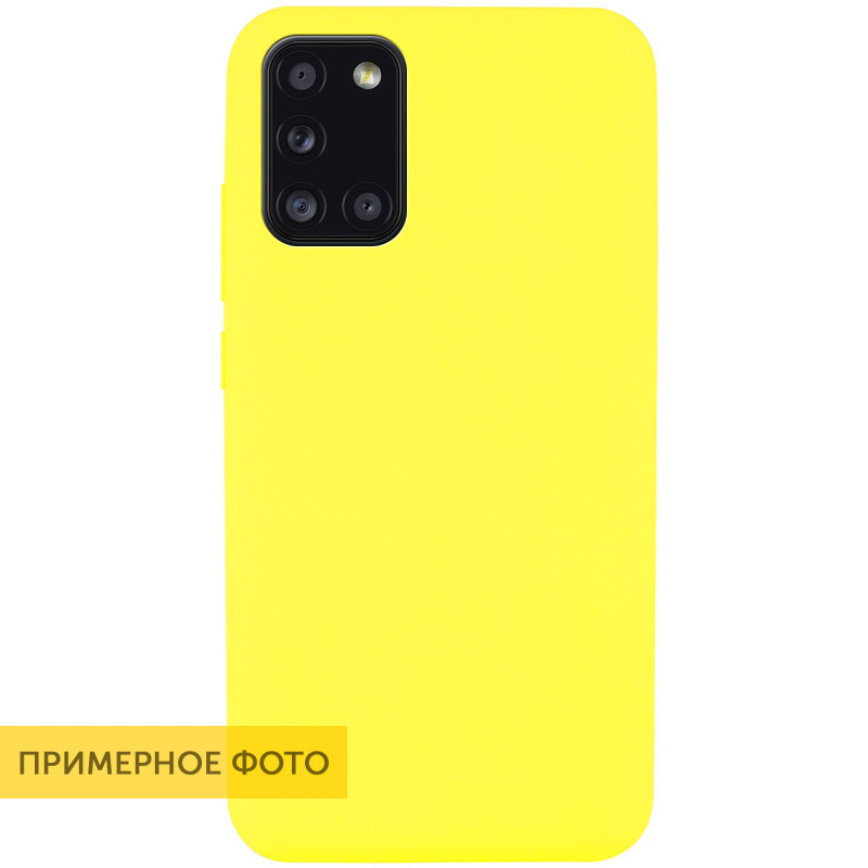 Чехол Silicone Cover Full without Logo (A) для Xiaomi Redmi Note 9 / Redmi 10X