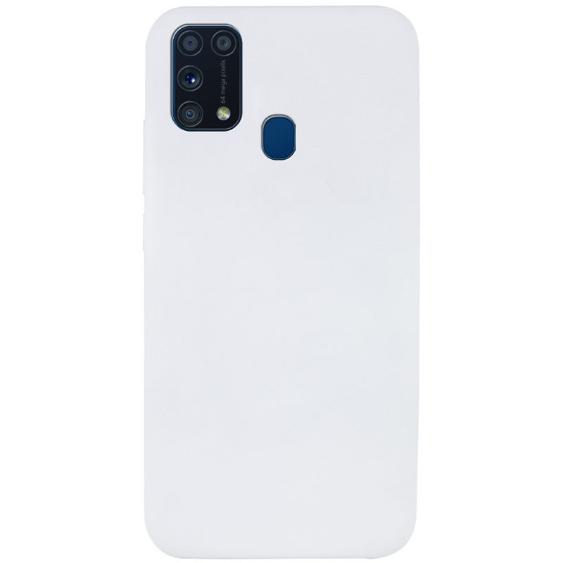 Чехол Silicone Cover Full without Logo (A) для Samsung Galaxy M31