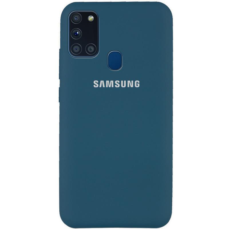 Чехол Silicone Cover Full Protective (AA) для Samsung Galaxy A21s