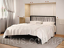 Кровать металлическая Бергамо-1 без изножья