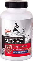 Жевательные таблетки для суставов Связки и Суставы 3-й уровень Nutri-Vet Hip & Joint Advanced Strength 150таб.