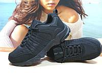Мужские термо - кроссовки Yike waterproof черные 44 р., фото 1