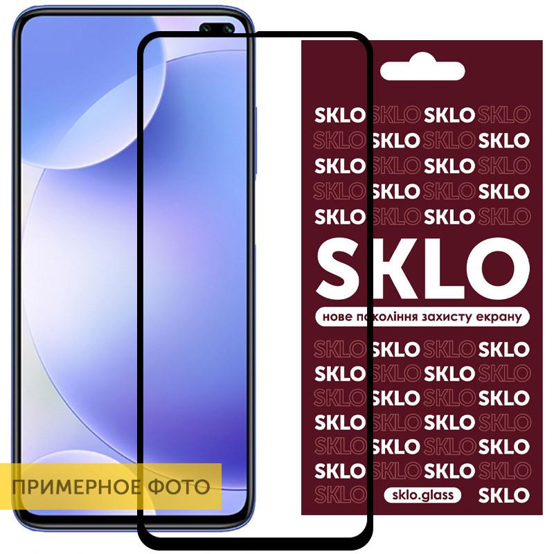Защитное стекло SKLO 3D (full glue) для Samsung Galaxy A31