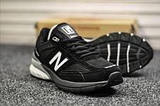 """Кроссовки New Balance 990 """"Черные/Белые"""", фото 2"""