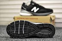 """Кроссовки New Balance 990 """"Черные/Белые"""", фото 3"""