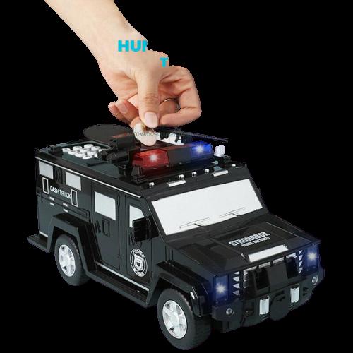 Детская копилка в виде полицейской машины