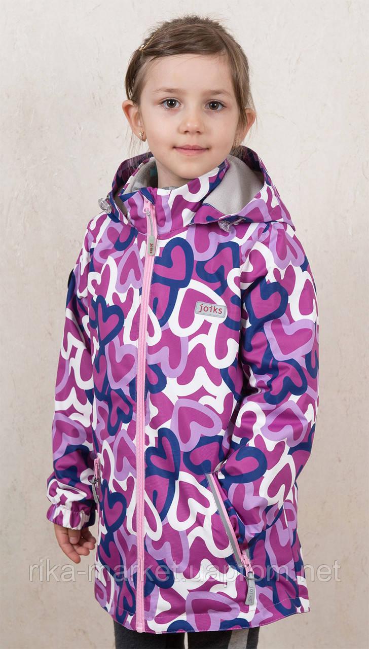 Куртка для девочки, арт.AVG-22S,    2-8 лет