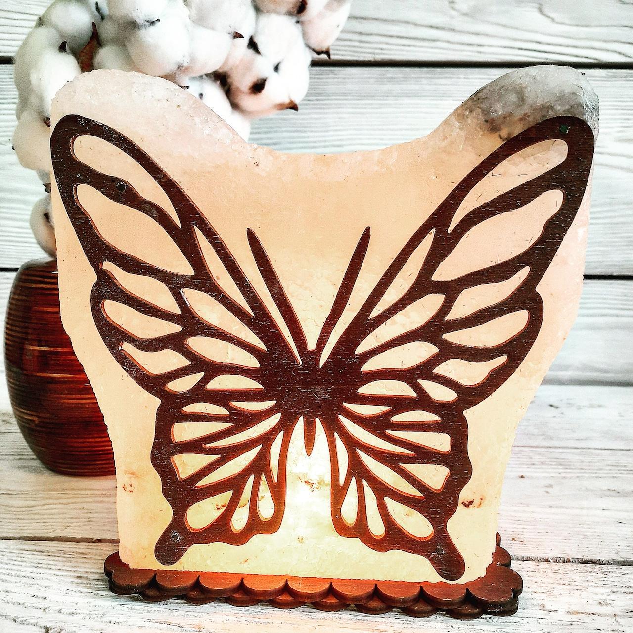Соляна лампа SaltLamp Метелик 3-4 кг