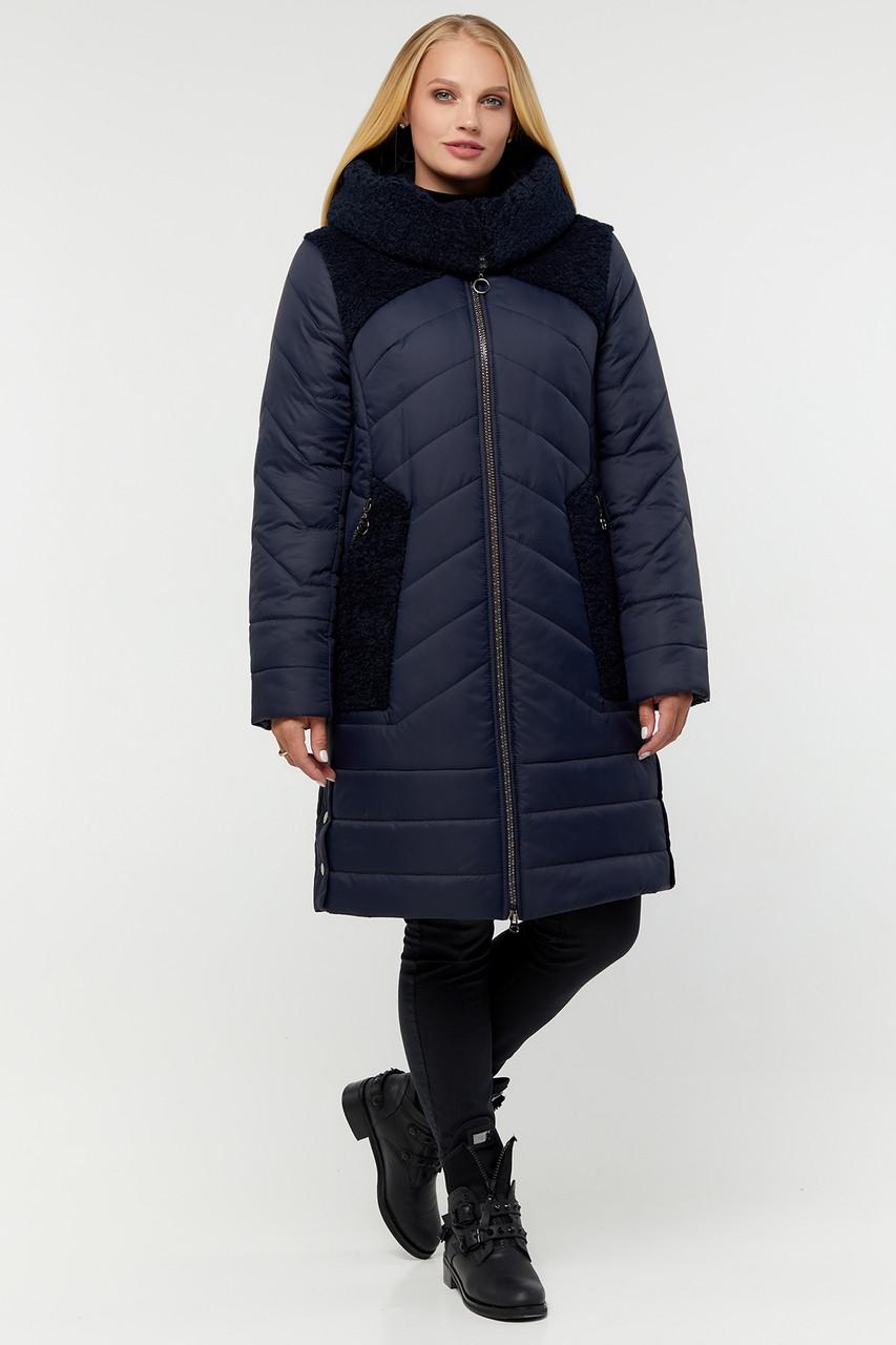 Куртка ТМ ALL POSA Шерил синий 50 (100252)