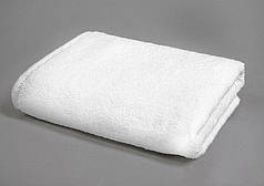 Полотенце махровое 50х90 белое 500 г/м²  Уценка