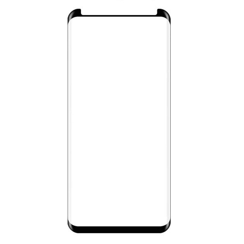 Защитное стекло 3D Edge (full glue) (без упаковки) для Samsung G955 Galaxy S8 Plus