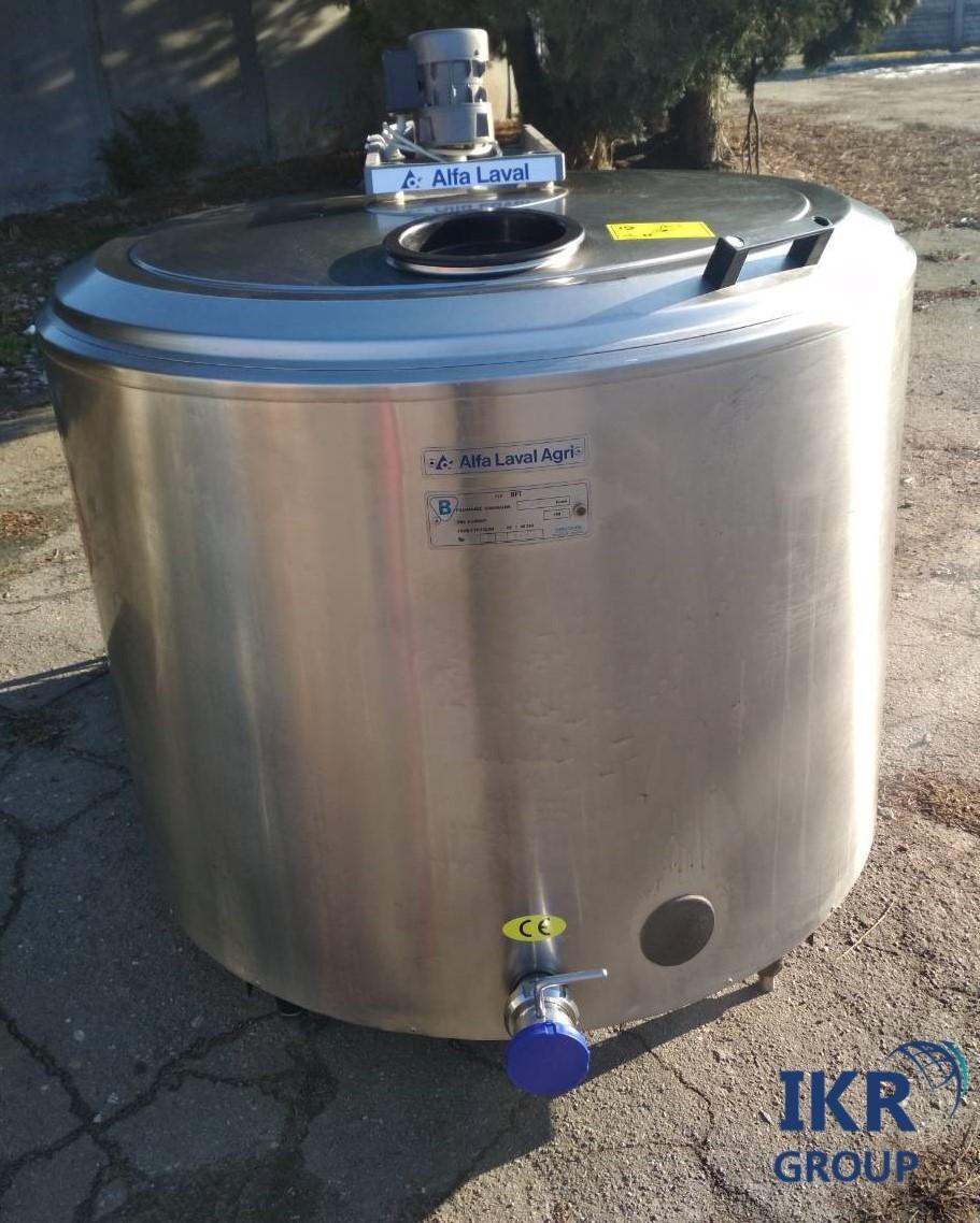 Танк охладитель молока 500 литров Alfa Laval б/у