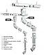 """Произвольное Колено водосточной трубы (от 70 до 170 градусов), водосточной системы """"Profil"""" 90/75, фото 6"""