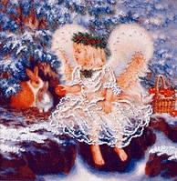 Набор для вышивки Ангелочек зимой