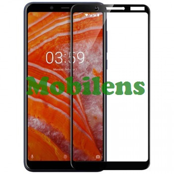 Nokia 3.1 Plus, TA-1104 Защитное стекло черное