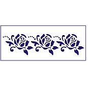 Трафарет для торта Розы 7*27 см (TR-2)