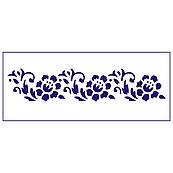 Трафарет для торта Цветы-2 5,5*26,5 см (TR-2)
