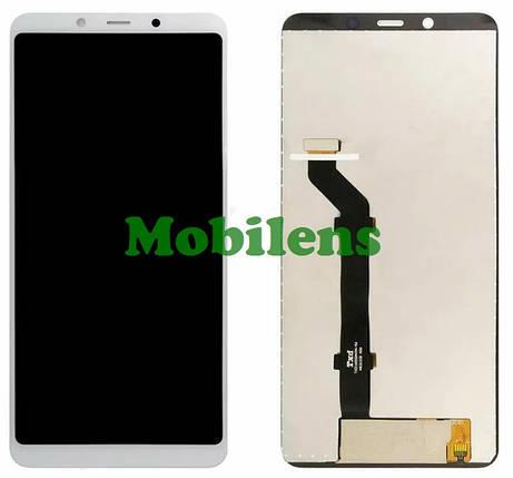 Nokia 3.1 Plus, TA-1104 Дисплей+тачскрин(модуль) белый, фото 2