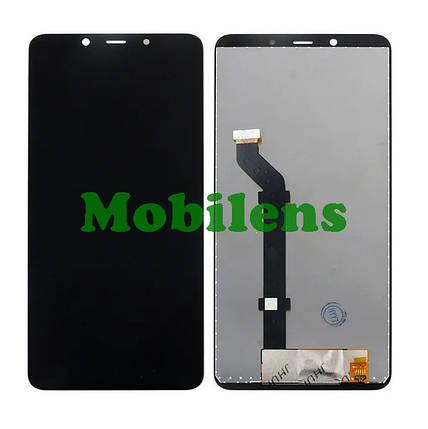 Nokia 3.1 Plus, TA-1104 Дисплей+тачскрин(модуль) черный High Copy, фото 2