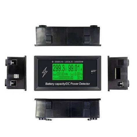 Цифровой энергометр с Bluetooth 300В 100А DC, ваттметр, амперметр, вольтметр, фото 2