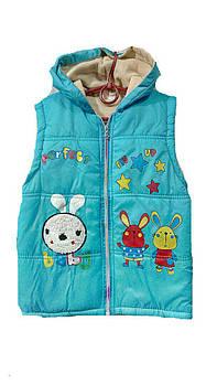 Детская жилетка на мальчика   Р.р 4-5   лет  Турция