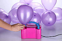 Насос для надування повітряних кульок Balloon Pump 73005, електричний побутовий компресор для кульок, фото 1
