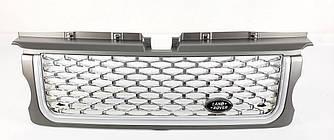 Решетка радиатора Range Rover Sport L320 (05-09) стиль Autobiography (графит + хром)
